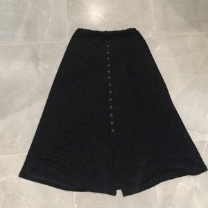 Western Connection Black skirt